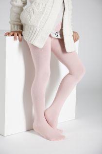 CALDO pink cotton tights for children | BestSockDrawer.com