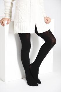 CALDO black cotton tights for children | BestSockDrawer.com