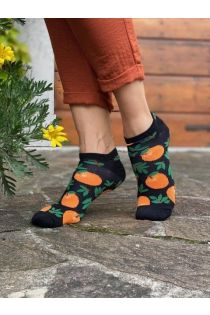 LAVITA low-cut cotton socks with clementines | BestSockDrawer.com