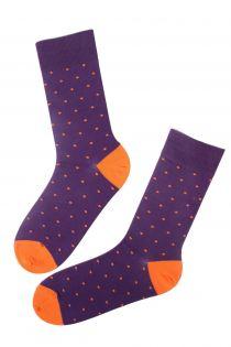 GORDON purple cotton socks for men | BestSockDrawer.com