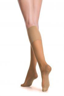 RELAX 20 DEN natural knee-highs | BestSockDrawer.com