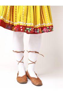 KAISA white cotton tights | BestSockDrawer.com