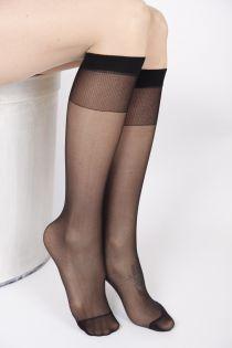 FEM black knee-highs 2-pack | BestSockDrawer.com