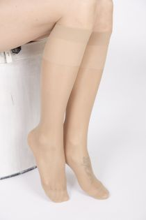 FEM natural knee-highs 2-pack | BestSockDrawer.com