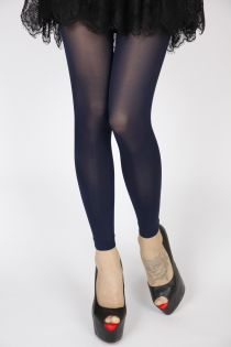 DAISY dark blue leggings | BestSockDrawer.com