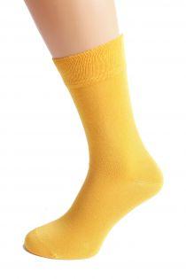 TAUNO men's yellow socks | BestSockDrawer.com