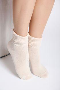 MATILDA creamy white socks | BestSockDrawer.com