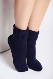 MATILDA dark blue socks | BestSockDrawer.com