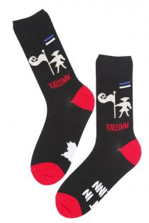 TALLINN cotton socks for men | BestSockDrawer.com