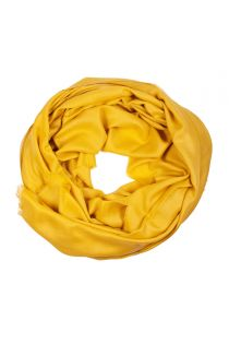 Mustard Royal alpaca wool and silk shawl | BestSockDrawer.com
