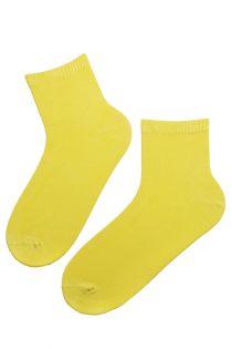 ALEX bright yellow viscose socks for men | BestSockDrawer.com