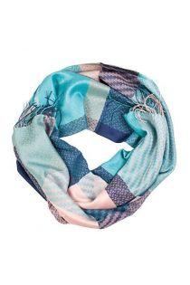 Alpaca wool and silk blue checkered shawl | BestSockDrawer.com