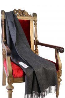 Alpaca wool dark gray plaid | BestSockDrawer.com