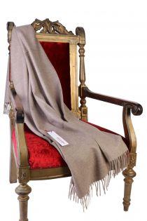 Alpaca wool gray-beige plaid | BestSockDrawer.com