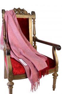 Alpaca wool herringbone patterned red plaid | BestSockDrawer.com