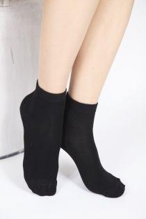 BAMBUS women's black socks | BestSockDrawer.com