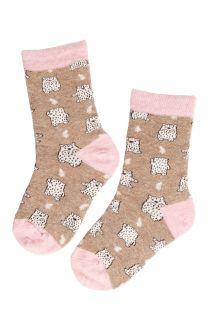 BEAR BABY angora wool socks for kids | BestSockDrawer.com