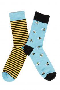 BUG men's socks with bees | BestSockDrawer.com