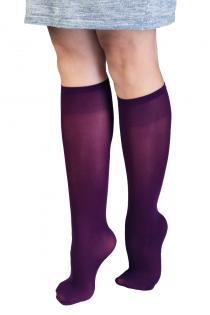 CADRI 40DEN purple knee-highs for women | BestSockDrawer.com