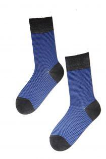 CECAR blue Dress Socks for Men | BestSockDrawer.com