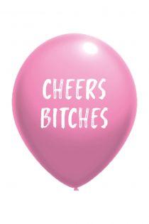 CHEERS BITCHES balloon | BestSockDrawer.com