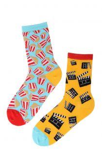 CINEMA cotton socks for cinema lovers   BestSockDrawer.com