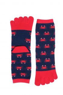 CRAB TOES toe socks for women | BestSockDrawer.com