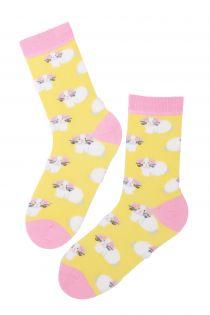 EGGBUNNY cotton Easter socks with bunnies | BestSockDrawer.com