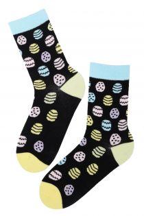 EGGNUTS cotton Easter socks | BestSockDrawer.com
