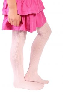 EGLE light pink tights for kids | BestSockDrawer.com