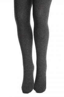 ELENA dark grey tights containing silk for children | BestSockDrawer.com
