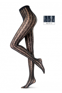 Oroblu FLOUNCE 20DEN blue tights | BestSockDrawer.com