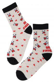 FRIENDSHIP Valentine's Day cotton socks | BestSockDrawer.com