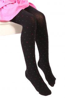 GAIA black tights for kids | BestSockDrawer.com