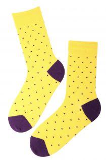 GORDON yellow cotton socks for men | BestSockDrawer.com