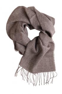 Alpaca wool brown scarf | BestSockDrawer.com