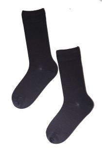 HANS dark blue merino socks for men | BestSockDrawer.com