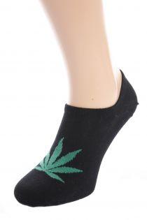 HEMP men's low-cut socks, black | BestSockDrawer.com