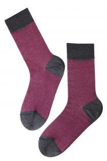 HERBERT pink Dress Socks for Men | BestSockDrawer.com