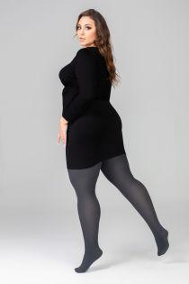 QUEEN PLUS 50DEN dark grey tights | BestSockDrawer.com