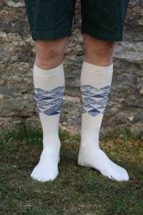 MINU ARM (My love) men's cotton knee-highs | BestSockDrawer.com