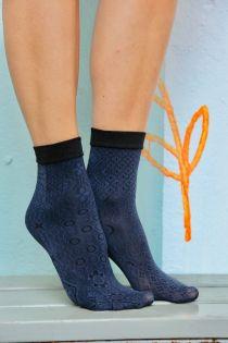 SONIA dark blue 60 DENIER socks for women | BestSockDrawer.com