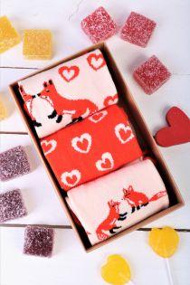 FOXYLOVE gift box for women | BestSockDrawer.com