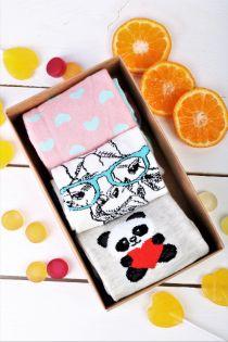 GIRAFFE gift box for women | BestSockDrawer.com