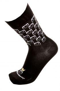 INFLUENCER black cotton socks for men | BestSockDrawer.com