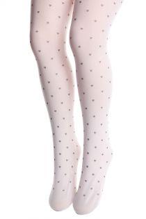 JOLIE white tights for children | BestSockDrawer.com