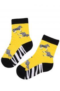 ZEBRA cotton sock for kids | BestSockDrawer.com