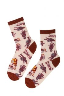 KNIGHT cotton socks for kids | BestSockDrawer.com