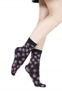 LISETTE lilac 60 DENIER socks for women | BestSockDrawer.com