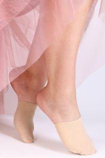 MALIBU half toe socks for women   BestSockDrawer.com